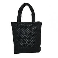Стеганая женская сумка, дутая