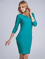 Яркое  женское платье  модного кроя из качественного креп-дайвинга