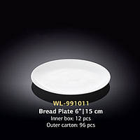 Тарелка пирожковая кругла (Wilmax, Вилмакс, Вілмакс) WL-991011