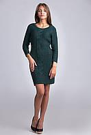 Качественное  платье-туника из мягкой и комфортной пряжи