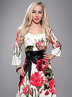 Платье женское из француского трикотажа