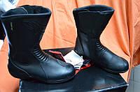 Ботинки кожанные мотоциклетные Alpinstars  RIDGE WEB GORETEX BLACK 42 размер