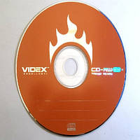 Диск Videx CD-RW для многоразовой записи