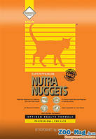 Корм для котов Нутра Наггетс оранжевая 3кг. NUTRA Nuggets