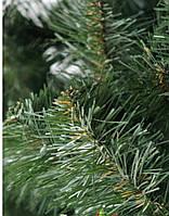 Елка искусственная европейская 130см, иголки леска ПВХ Италия,Подарок 5 пачек бенгальских огней