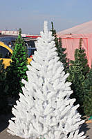 Ёлка литая белая 150 см иголки литая леска, кристально белая,Подарок 10 пачек бенгальских огней