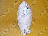 Подушка Merkys 60x60 Mickrofibre белая со съемной стеганой наволочкой