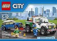 Lego City Пикап-буксир 60081