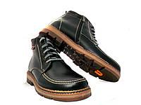 Ботинки мужские с натуральной кожи на меху