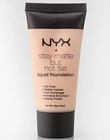 Матирующая тональная основа NYX Stay Matte But Not Flat 04 Creamy Natural