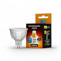 LED лампа MR 16  7W GU5.3   4100К 220V (бел)