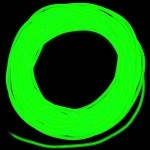 Холодный неон 3 поколение, 2,2 мм - лимонно-зеленый