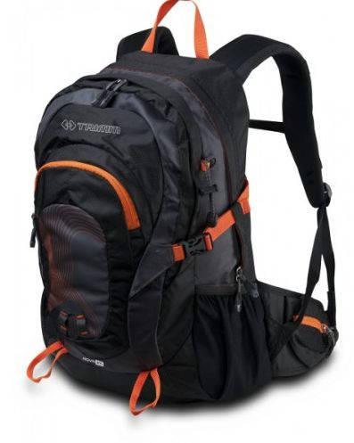 Облегченный вместительный рюкзак для туризма 27 л. Trimm ROVA black черный