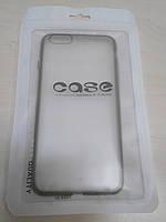 Чехол для Apple iPhone 6 Plus пластиковый 0,3 мм Black