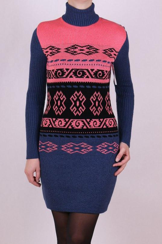 Вязаное платье туника с доставкой