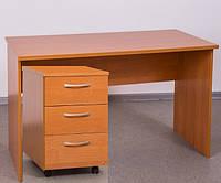 Письменный стол с тумбой
