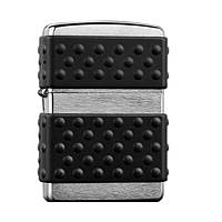 Зажигалка Zippo 200 ZP BRUSH CHROME ZIP GUARD
