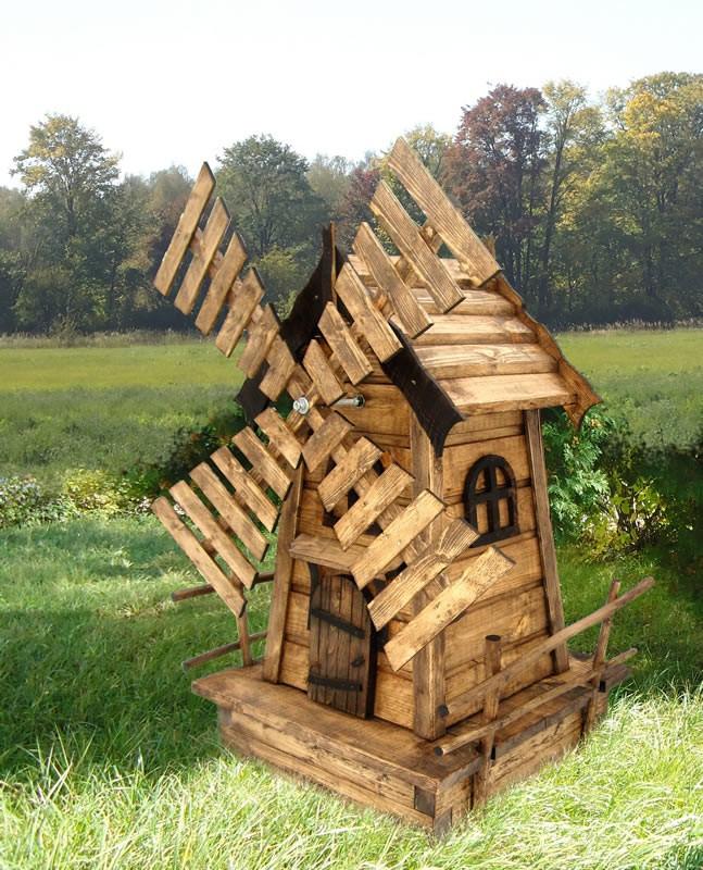 Декоративные мельницы как сделать
