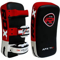Пады для тайского бокса RDX Red (1шт). Доставка бесплатно! Красный