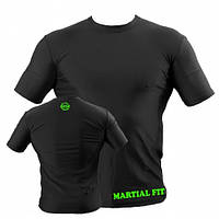 Компрессионная футболка для тренажерного зала Berserk Sport черный