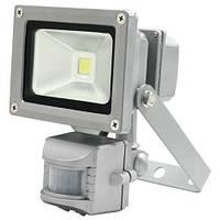 Светодиодный прожектор Feron LL831 10W COB с датчиком движения