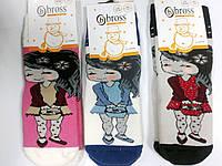 Детские махровые носки для девочек ТМ Bross