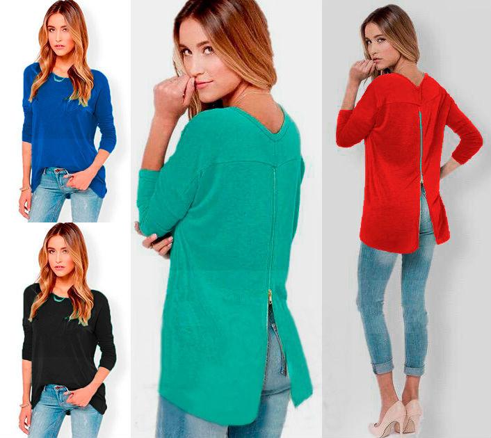 Купить женские трикотажные блузки