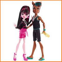 Набор кукол Monster High Дракулаура и Клод Вульф (Draculaura & Clawd) из серии Music Festival Монстр Хай