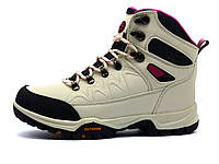 """Ботинки зимние унисекс """"ANDA"""", кожаные, бежевые, фото 1"""