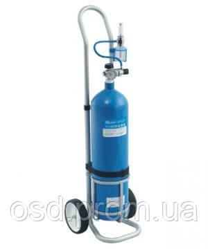 Баллон кислородный с тележкой для транспортировки 8 л