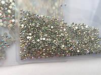 Стразы для ногтей (стекло) хамелеон SS3 (100 шт.)