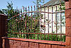 Кованный забор (620).