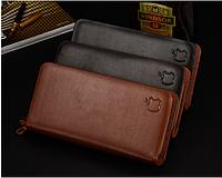 Мужское портмоне . Бумажник. Кошелёк. Мужской кожаный бумажник. Код: КСМ81