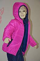 Зимний костюм для девочки № 9808 (рост 116,122,128)