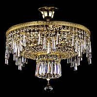 Хрустальная люстра для зала, спальни на 6 лампочек