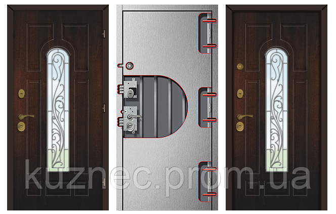 металлические двери уличные подольск