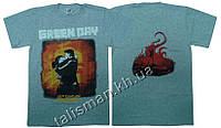 GREEN DAY - 21st Century Breakdown - меланж. - рок-футболка (фирм.)