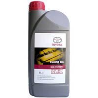 Масло моторное полусинтетическое Toyota 10W-40  ENGINE OIL 1L  (Оригинал)