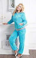 Женская теплая пижама/костюм для дома махра,велюр ИНГРИД FLEUR Lingerie