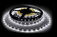 LED светодиодная лента 5м White 60 диодов на метр. (Арт.3528-5)