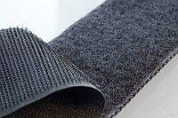 Липучка для одежды и обуви метражная ширина 11см цвет черный