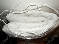 Наматрасник 200x220 Merkys белый поликоттон