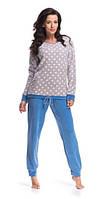 Пижама женская теплая зимняя Dobranocka 8075