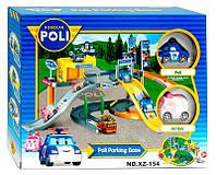 Игрушка гараж парковка Робокар Поли