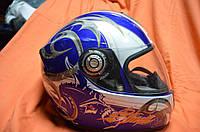 Качественный мото шлем интеграл SHARK RSI размер L Франция