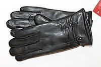 Женские  перчатки из  кожи  11504