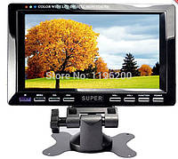 Телевизор Super 7,5 дюймов с USB и видеовходом