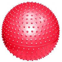 Мяч для фитнеса массажный (фитбол) d-75см 1350г