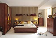Спальня Kaspian Classic BRW вишня примавера светлая