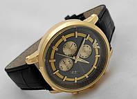 Мужские часы Emporio Armani - GA цвет корпуса золото, циферблат черный